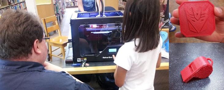 3D printing Demo - July 5